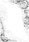 Baroque Style,Angle,Flower,Swirl,Abstract,Single Flower,Frame,Backgrounds,Black Color,Scroll Shape,Growth,Design Element,Part Of,Gray,Victorian Style,Plan,Elegance,Fashion,Pattern,Old-fashioned,Retro Revival,filigree,Decoration,Twisted,Ornate,Grunge,Design,Isolated,Old,Modern,Vector,Computer Graphic,Spiral,Art,Vector Ornaments,Silhouette,Vignette,Leaf,Sparse,Beautiful,Vector Florals,Outline,Intricacy,Isolated Objects,Digitally Generated Image,Spotted,Luxury,Beauty In Nature,Curve,Cartouche,Illustrations And Vector Art,Rococo Style,Shape,Stirring,Classical Style,Ilustration,Symmetry,Isolated-Background Objects