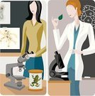 Teacher,Professor,Microscope,Classroom,Ilustration,Frog,People,Bacterium,Instructor,Biology,Vector,Architecture And Buildings,Objects/Equipment,People,Clip Art,Blackboard,Diptych,Plan,Leaf,handcarves
