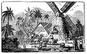 Sugar Cane,Mill,Watermill,Windmill,Drawing - Art Product,Pencil Drawing,History,Engraving,Factory,Wind Turbine,Engraved Image,Old-fashioned,Occupation,Antique,Old,Ilustration,19th Century Style,Design,Science,Black And White,Art,Book,Industry,Isolated On White,Victorian Style,Painted Image,Sketch,Retro Revival,Obsolete,People,Working,Isolated,Cultures,Architecture,Manual Worker,Technology,Printout,Wind,Men,Print,Aging Process,Paintings