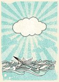 Cloud - Sky,Cloudscape,Retro Revival,Nautical Vessel,Old-fashioned,Wave,Newspaper,Origami,Sea,Backgrounds,Sketch,Drawing - Art Product,River,Sailing Ship,Paper,Passenger Ship,Sun,Grunge,Sky,Vector,Recreational Boat,Scribble,Sunlight,Outline,Blue,Ilustration,Label,Sailboat,Abstract,Frame,Sunbeam,Anchor,Toy,White,Colors,Floating On Water,Cartoon,Black Color,Spray,No People,Greeting Card,Symbol,Sailing,Textured Effect,Color Image,Illustrations And Vector Art,Nature,Nature Abstract,Transportation,Blank,Eclipse,Vector Backgrounds,Placard,Splattered,Spotted,Design Element