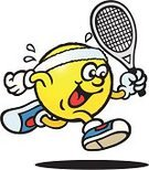 Tennis,Cartoon,Ball,Sport,Running,Action,Humor,Jogging,Bouncing,Tennis Ball,Characters,Exercising,Sports Glove,Multi Colored,Sweat Band,Laughing,Ilustration,Walking,Racket,Fun,Smiling,Vector,Sports And Fitness,Blue,Looking,Healthy Lifestyle,Yellow,Sweat,Equipment,Dress Shoe,Headband,Vector Cartoons,Mascot,Isolated On White,Individual Sports,Cool,Illustrations And Vector Art,Cute,Concepts And Ideas