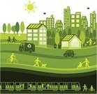 Sustainable Resources,City,Green Color,Environmental Conservation,Environment,Urban Scene,Lifestyles,Town,Nature,Building Exterior,House,Walking,Healthy Lifestyle,People,Car,Train,Symbol,Solar Panel,Bicycle,Residential District,Child,Recycling,Cycling,Clean,Landscaped,Subway Station,Cityscape,Dog,Tree,Truck,Subway Train,Men,Sun,Women,Squirrel,Urban Skyline,Compost,Rabbit - Animal,Paris Metro Train,Recycling Bin,Passenger,Bird,Hybrid Vehicle,Little Girls,Jogging Stroller,Bench,Little Boys,Joy,Baby Stroller,Lifestyle,People,Watering,Nature