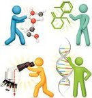 DNA,People,Scientist,Symbol,Innovation,Science,Breaking New Ground,Chemistry,Ideas,Microscope,Molecular Structure,Helix,The Next Step,Concepts,Stick Figure,Improvement,Technology,Discovery,Vector,Solution,Futuristic,Examining,Simplicity,Showing,Design Element,Holding,Concepts And Ideas,Ilustration,Development,Information Symbol,Vector Icons,Medicine And Science,Illustrations And Vector Art