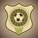 Soccer,Insignia,Retro Revival,Football,Coat Of Arms,Sport,Inspiration,Ideas,Sports Team,Ilustration,Single Object,Play,Concepts,Ball,Symbol