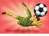 Soccer,Goalie,Cartoon,Jumping,Sport,Vitality,Characters,Goal,Action,Competitive Sport,Sports Uniform,Football,Vector,Sports Clothing,Men,Vector Cartoons,Team Sports,Illustrations And Vector Art,Ball,Competition,Young Adult,Ilustration,Championship,Playing,Catching,Sports And Fitness,Sports League,Athlete,Sports Backgrounds