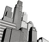 Cityscape,Built Structure,Silhouette,Urban Skyline,Building Exterior,City,Three Dimensional,Drawing - Art Product,Black Color,Urban Scene,White,Skyscraper,Ilustration,Office Building,Financial District,Black And White,Tall,Large,Town,Futuristic,Window,Business,Gray,Downtown District,Computer Graphic,Vector,Monochrome,Architecture,City Life,Capital Cities,Design,Tower,Cool,Art,Modern,Facade,Architecture And Buildings,Office Buildings,Illustrations And Vector Art,Business