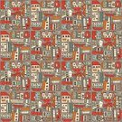 Row House,City Street,Cityscape,Abstract,Pattern,Street,Homes,Wallpaper Pattern,Graphic Print,Architecture Abstract,Townhouse,Vector,Architecture And Buildings,Architecture Backgrounds
