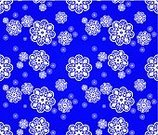 Seamless,Floral Pattern,Swirl,Silk,Pattern,Antique,Obsolete,Vector,Wallpaper,Isolated Objects,Ornate,1940-1980 Retro-Styled Imagery,Retro Revival,Blue,Decoration,Illustrations And Vector Art,Wallpaper Pattern,Snowflake,Old-fashioned,Backgrounds,White,Repetition