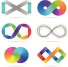 Infinity,Symbol,Abstract,Circle,Sign,Colors,Computer Icon,Rainbow,Number 8,Design Element,Icon Set,Mobius Strip,Multi Colored,Striped,Shape,Interlocked,Curve,Ribbon,Set,Computer Graphic,Digitally Generated Image,Triangle,Waving,Drawing - Art Product,Blue,Vector,Orange Color,Clip Art,White Background,Futuristic,No People,Vibrant Color,Forecasting,Group of Objects,Shadow,Design,Green Color,Concepts And Ideas,Plexus,Levitation,Illustrations And Vector Art,Isolated On White,graphic elements,Arts And Entertainment,Ilustration