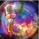 Microphone,Entertainment,Equipment,Audio Equipment,Gold Colored,Music,The Media,Sound Recording Equipment,Ilustration,Sound,Design,Music,Technology,Electronics,Arts And Entertainment,Technology,Illuminated