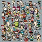 Running,Jogging,Marathon,Track Event,Sports Race,Competition,Women,Bib,Cartoon,Overweight,Crowd,Exercising,Event,Sport,Ilustration,Men,Effort,Tired,Sweat,Waving,Cheerful,Sports And Fitness,Vector,Physical Pressure,Competition,Tracksuit,Cap,Cycling Shorts,Illustrations And Vector Art,Vector Cartoons,People