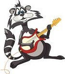 Child,Guitarist,Raccoon,Animal,Cheerful,Rock and Roll,Cartoon,Classic Rock,Guitar,Vector,Humor,Caricature,White Background,Nature,Ilustration,Cute,Characters,Clip Art,Music,Music,Holidays And Celebrations,Animals And Pets,Musician,White,Joy,Fun,Smiling,Pop Rock,Happiness,Childhood,Wild Animals,Arts And Entertainment,Isolated On White,Design,Parties