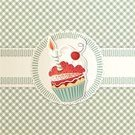 Birthday Card,Birthday Cake,Cupcake,Old-fashioned,Candy,Bakery,Birthday,Cake,Label,1940-1980 Retro-Styled Imagery,One Year Anniversary,1950s Style,Backgrounds,Frame,Invitation,Baking,Pattern,Menu,First Birthday,Cookie,Romance,Greeting Card,Party - Social Event,Anniversary,Cute,Gourmet,Food,Cheerful,Cherry,Red,Celebration,Sweet Food,Dessert,Candle,Ribbon,Decoration,Ornate,Vector Backgrounds,Food And Drink,Food Backgrounds,Illustrations And Vector Art,Holidays And Celebrations,Birthdays