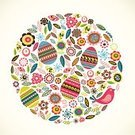 Easter Egg,Easter,Pattern,Eggs,Vector,Symbol,Bird,Backgrounds,Abstract,Floral Pattern,Flower,Springtime,Ilustration,Holiday,Funky,Holiday Backgrounds,Holidays And Celebrations,Cute,Multi Colored,Holiday Symbols,Easter,Good Friday,Design Element,Decoration