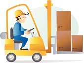 Forklift,Warehouse,Manufacturing,Safety,Truck,Pick-up Truck,Picking Up,Cartoon,Loading,Driver,Car,Box - Container,Symbol,Manual Worker,Action,Driving,Motion,Construction Worker,Men,Delivering,Physical Activity,Equipment,Real People,Distribution Warehouse,Construction Vehicle,Machinery,Built Structure,Characters,Occupation,Industry,Working,Labor Day,Ilustration,A Helping Hand,Vector Cartoons,Employment Issues,Wheel,Service,Job - Religious Figure,Maintenance Engineer,Construction Machinery,Assistance,Foreman,Transportation,People,Operator,Hardhat,Illustrations And Vector Art,JOB Rolling Papers,Professional Occupation,Transportation,Smiling,Mode of Transport,Construction Industry