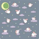 Sheep,Sleeping,Moon,Insomnia,Counting,Animal,Night,Bedtime,Tranquil Scene,Letter Z,Happiness,Dreamlike,Jumping,Sport,Swing,Sky,Star Shape,Ilustration,Herding,Swinging,Cute,Symbol,Leisure Games,Star - Space,Flying,Herd,Crescent,Waking up,Vector,Domestic Animals,Activity,Anxiety,Fun,Color Image,Preschooler,Preschool,Cloud - Sky,Illustrations And Vector Art,Humor,Playing,Gray,Lying Down,Smiling,Playful,Non-Urban Scene,Surveillance,Farm Animals,Large Group of Objects,Square,Vector Cartoons,Nightcounting Sheep,Animals And Pets,Vector Backgrounds,Flock Of Sheep