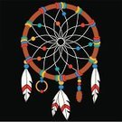 Dreamcatcher,Native American,North American Tribal Culture,Feather,Dreamlike,Ilustration,Catching,Art,Clip Art,Southwest USA,Spirituality,Spider Web,Craft,Vector,Color Image,Illustrations And Vector Art,Concepts And Ideas,Religion,Cultures,Holidays And Celebrations,Indigenous Culture,Traditional Ceremony,Religious Equipment,Multi Colored,American Culture