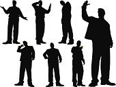 Silhouette,Men,Telephone,People,High-Five,Tall,Business,Mobile Phone,Standing,The Human Body,Low Angle View,On The Phone,Male,Businessman,Series,Vector,Attitude,Suit,Shape,Occupation,Strength,Group Of People,Remote,Image,Teamwork,Jacket,Looking At Camera,Posing,Ilustration,Job - Religious Figure,Focus on Shadow,Computer Graphic,Confidence,Success,Business Person,Expertise,Clip Art,Concepts And Ideas,People,odltimer,Business People,handcarves,Business,Professional Occupation,one two three four,corporate design,Design,Industry,Character Traits