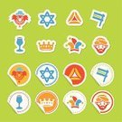 Purim,Symbol,Clown,Judaism,Crown,Hot Air Balloon,Joy,Star Of David,Celebration,Cup,Cookie,Backgrounds,Cultures,Carnival,Party - Social Event,Traveling Carnival,Jewish Cuisine,Jewish Tradition,Wine,Oznei Haman,Hamantaschen,Masquerade Mask,Mask,Star Shape