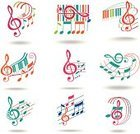 Music,Musical Note,Orange Color,Treble Clef,Symbol,Vector,Treble,Multi Colored,Pink Color,Set,Computer Graphic,Abstract,Vector Icons,Ilustration,Style,Music,Image,Shadow,Design,Blue,Curve,Illustrations And Vector Art,Arts And Entertainment,Shape,Green Color,Design Element,Single Object,Isolated Objects,Isolated,Sign