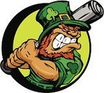 Leprechaun,Baseball - Sport,Sports Bat,Clover,Cartoon,Irish Culture,Swinging,Batting,Hitting,St Patrick's Day,Vector,Sports And Fitness,Vector Cartoons,Illustrations And Vector Art,Holiday,Sport,Human Hand,Green Color,Hat,Holding,Ilustration