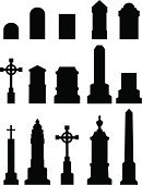 Tombstone,Cemetery,Grave,Silhouette,Back Lit,Halloween,Mausoleum,Death,Horror,Tomb,Trick Or Treat,Ugliness,Cross,Spooky