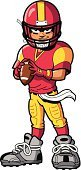 American Football - Sport,Cartoon,Mascot,Teenager,Little Boys,Men,Quarterback,Macho,Athlete,Avatar,Muscular Build,Pre-Adolescent Child,Touchdown,Clip Art,Real People,Score Card,Winning,Attitude,University,Sports Team,Vector,Sport,Scoreboard,Leisure Games,People,Vector Cartoons,Cool,Sports And Fitness,Strength,Team Sports,Ilustration,Toughness,Characters,Ball,Teen Pop,Confidence,Computer Graphic,Leadership,Scoring,Drawing - Art Product,Illustrations And Vector Art