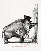 Tax,Pig,Old-fashioned,Fun,Ilustration,Finance,Painted Image,Victorian Style,Art,Drawing - Art Product,Comic Book,Character Traits,Characters,History,Humor,England,Boredom,Satire,Arts And Entertainment,Old,19th Century Style,Image Created 19th Century,Sketch,Concepts And Ideas,Tax Man,Antique,The Past