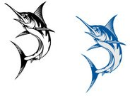 Marlin,Sailfish,Fishing,Fish,Swordfish,Vector,Catch of Fish,Jumping,Cut Out,Sword,Sea,Underwater,Large,Beak,Catching,Computer Graphic,Animal,Cartoon,Water,Badge,Symbol,Animal Body,Wildlife,Striped,Mascot,Blue,Isolated,Design,Ilustration,Nature,Cheerful,Atlantic Ocean,Trophy,Animals In The Wild