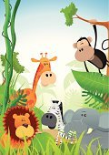 Animal,Zoo,Tropical Rainforest,Ark,Cartoon,Monkey,Africa,Lion - Feline,Ilustration,Savannah,Vector,Primate,Set,Wildlife,Plain,Ape,Giraffe,African Culture,Symbol,Grass Area,Friendship,Zebra,Forest,Collection,Characters,Tree,Elephant,Plant,Mammal,Exoticism,Nature,Tawny,Bush,Backgrounds,Variation,Small,Grass,Tail,Animal Backgrounds,Violence,Lush Foliage,Cheerful,Nature Backgrounds,Mane,Nature,Animals And Pets,Claw,Wild Animals,Leaf,Chimpanzee,Tropical Climate