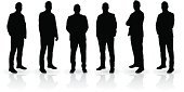 Silhouette,Men,Group Of People,People,Businessman,Male,Occupation,Standing,Suit,Business,Serious,Human Resources,Power,Confidence,Leadership,Security Staff,Team,Young Adult,Adult,Manager,Recruitment,Foreman,Outline,Expertise,Office Interior,Teamwork,Black Color,Isolated,Bossy,Attitude,Vector,Success,Partnership,Security