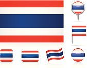 Thai Flag,Thailand,Flag,Straight Pin,Circle,National Flag,Curve,Ilustration,Collection,Flat,Computer Icon,Set,Vector,Travel Locations,waveform,Illustrations And Vector Art,Vector Icons,Icon Set,Map,Shiny,Rectangle
