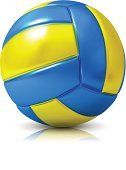 Volleyball,Volleyball - Sport,Three-dimensional Shape,Computer Icon,Symbol,Ball,Sphere,Isolated,Sport,Single Object,Circle,White Background,White,Yellow,Play,Isolated-Background Objects,Sports Symbols/Metaphors,Blue,Ideas,Team Sports,Isolated Objects,Sports And Fitness,Isolated On White,Equipment