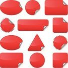 Label,Interface Icons,New,Price,Red,Circle,Price Tag,Seal - Stamp,Luggage Tag,Symbol,Computer Icon,Peeled,Badge,Ellipse,Square Shape,Computer Graphic,Icon Set,Sign,Office Supply,Vector,Rectangle,Triangle,Design Element,Shape,Curled Up,Ideas,Blank,Clip Art,Copy Space,Ilustration