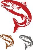 Salmon,Fish,Jumping,Trout,Old-fashioned,Vector,Retro Revival,Fishing,Symbol,Splashing,Silhouette,Seafood,Animal Scale,Food,Computer Graphic,Animals In The Wild,Insignia,Cartoon,Isolated,Backgrounds,Animal,Pattern,Sea,Nature,Mascot,Blue,Wildlife,Freshwater,Motion,Animal Fin,Single Object,Ilustration,Sketch,Design
