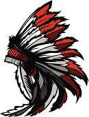 North American Tribal Culture,Native American,Headdress,Mascot,Feather,Chief,Warrior,Courage,Indigenous Culture,American Culture,Vector,Image,Illustrations And Vector Art,Ilustration