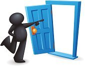 Door,Open,Opening,Accessibility,Leaving,Walking,Cartoon,Occupation,Entering,Disembarking,Doorway,Recruitment,Back Door,Business,Men,Humor,People,Job - Religious Figure,Silhouette,Beginnings,Direction,Exit Sign,Entrance,Incentive,Symbol,Entrance,Aspirations,Positive Emotion,Journey,Simplicity,Arrival,Design,Motivation,New,Hope,Solution,New Business,Inspiration,Employment Issues,Ideas,New Life,Professional Occupation,Concepts,Opportunity,Freedom,The Way Forward,Success,Human Representation,Doorframe,Creativity,Promotion