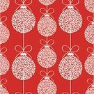 Christmas,Pattern,Holiday,Seamless,Polka Dot,Christmas Ornament,Backgrounds,Christmas Decoration,Ilustration,Red,Spotted,Vector,Bow,Repetition,White