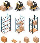 Warehouse,Isometric,Forklift,Symbol,Computer Icon,Freight Transportation,Shelf,Industry,Pallet,Icon Set,Shipping,Rack,Manufacturing,Distribution Warehouse,Box - Container,Crate,Cargo Container,Machinery,Ilustration,Transportation,facility,Stack,Station,Delivering,Stacking,Loading,Picking,Land Vehicle,Vector,Design Element,Store,Cardboard,Set,Picking Up,Equipment,Package,Merchandise