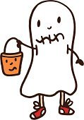 Ghost,Trick Or Treat,Halloween,Drawing - Art Product,Doodle,Costume,Horror,Standing,Cute,Holding,Young Adult,ghoul,Baseball Shoe,Humor,Fun,Spooky,no background,People,Isolated On White,Line Art,Illustrations And Vector Art,Collection,Ilustration,Cartoon,hand drawn,Characters,White Background,Teenager,Vector,Teenage Boys,Bucket,Men,Child,Smiling,Holidays And Celebrations,Male,Shorts,One Person,Looking,Carrying,Halloween