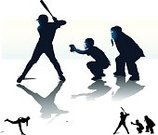 Baseballs,Baseball - Sport,Silhouette,Baseball Player,Batting,Baseball Catcher,Pitcher,Baseball Umpire,Athlete,Vector,Baseball Glove,Catching,Sports Bat,Ilustration,Set,Collection,Fast Ball,Arrangement,Black And White,Copy Space,Group of Objects,Throwing Ball,All Star,Baseball Pitcher,curve ball