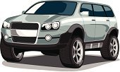 Sports Utility Vehicle,Off-Road Vehicle,Land Vehicle,Military Land Vehicle,Side View,Isolated,Personal Land Vehicle,White,Front View,Transportation,Bumper,Sports And Fitness,sea green,Alloy Wheel,Isolated Objects,Drive,Vehicle Door,Cartoon,Chrome