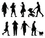 Walking,Silhouette,Text Messaging,Dog,Men,Women,On The Phone,Family,Child,Offspring,People,Pets,Text,Global Communications,Vector,Standing,Outline,Ilustration,White Background,Jogging Stroller,Communication,Adult,Animal,Community,Illustrations And Vector Art,Clip Art,Characters,Real People,Computer Graphic,People,Canine,Isolated Objects,Isolated On White,Digitally Generated Image,Group Of People,Photography,Sister