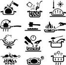Cooking,Symbol,Recipe,Icon Set,Computer Icon,Wok,Fried,Ingredient,Cooking Pan,Heat - Temperature,Barbecue Grill,Stir-Fried,Barbecue,Frying Pan,Stew,Instructions,Domestic Kitchen,Flame,Stew Pot,Casserole,Marinated,Food,Kitchen Utensil,Baking,Covering,Foil,Seared,Crockery,Saucepan,Flambe,Menu,Polythene,Commercial Kitchen,Seasoning,Eating,Bread,Chef,Dining,Seal - Singer,Restaurant,Skimming Stones,leaven,Reduction,Cooking Utensil,tenderize