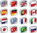 Translation,China - East Asia,Flag,Turkey - Middle East,Poland,Brazil,Italy,Spain,Symbol,Interface Icons,Computer Icon,Germany,France,Design,Canada,UK,Vector Icons,Icon Set,Illustrations And Vector Art,National Landmark,Japan,Russia,Portugal,Vector,England,USA,Travel Locations,Metal,Netherlands,Greece,Cube Shape,Computer Graphic,British Flag,Ilustration,Set