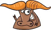 Bull - Animal,Cartoon,Fortune Telling,Humor,Vector,Astrology Sign,Animal,Ilustration,Symbol,Ox,Farm,East,Cute,Astronomy,Characters,China - East Asia,Calendar,Smiling,Vector Cartoons,Animals And Pets,Horned,Sign,Year,Illustrations And Vector Art,Astrology,Asia,Japan,Japanese Culture,Chinese Culture,Cheerful,Happiness