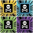 Human Skull,Danger,Safety,Spiral,People,Ilustration,Sign,Pirate Flag,Vector,Swirl,Prohibition,Warning Sign,Computer Graphic,Vector Icons,Design,Backdrop,Human Head,Symbol,Illustrations And Vector Art,Dead,Human Bone,Forbidden,Backgrounds,Death,Warning Symbol
