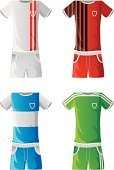 Soccer Uniform,Sports Uniform,Soccer,Clothing,T-Shirt,Football,Soccer Ball,No People,Teamwork,Cycling Shorts,Competitive Sport,Back Lit,Sports Team,Beauty And Health,Sports And Fitness,Sport,Vector Icons,Silhouette,Illustrations And Vector Art,Fashion,Vector,Sports Training,Pen And Ink,Sports Clothing,Competition