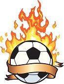 Soccer Ball,Flame,Soccer,Ball,Fire - Natural Phenomenon,Banner,Symbol,Heat - Temperature,Design,Black Color,Sport,Concepts And Ideas,Sports Symbols/Metaphors,Sports And Fitness,Red,White Background,Healthy Lifestyle,Vector Cartoons,Illustrations And Vector Art,Vector,Ilustration,Copy Space,Scroll