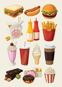 Fast Food Restaurant,Symbol,Burger,Milkshake,Hot Dog,Hamburger,Sandwich,Lunch,Vector,Popcorn,Food,Coffee - Drink,Unhealthy Eating,French Fries,Ice Cream,Soda,Breakfast,Donut,Dinner,Chinese Cuisine,Eating,Cup,Cherry,Ilustration,Bar - Drink Establishment,Chocolate,Snack,Meal,Drink,Mustard,Healthy Lifestyle,Cream,Lifestyles,Cone,Cheeseburger,Meat,Ketchup,Party - Social Event,Carton,Set,Obsolete,Glass,Sausage,Home Finances,Speed,Gourmet,Refreshment